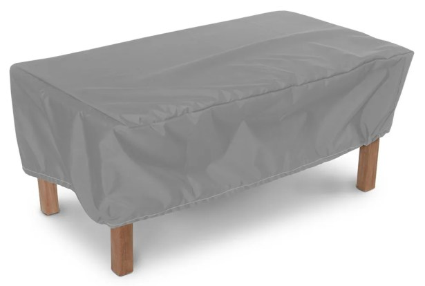 Weathermax� Rectangular Ottoman/Small Table Cover Size: 17