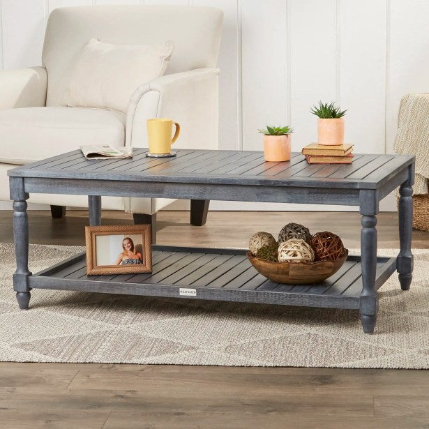 Keyser Coffee Table Color: Ash Grey