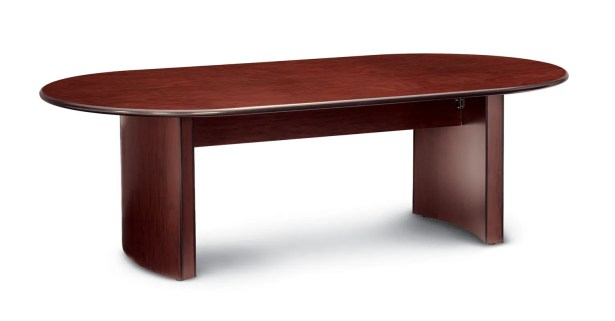 Global Oval Conference Table Finish: Black (Special Order), Size: 10' L
