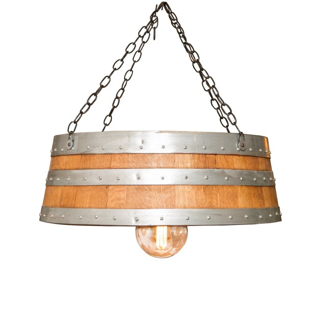 Top of the Barrel 1-Light Pendant