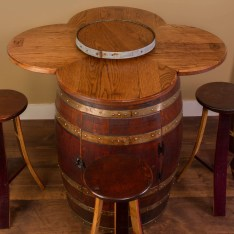 Dining Table Sets Wine Barrel 6 Piece Dining Set
