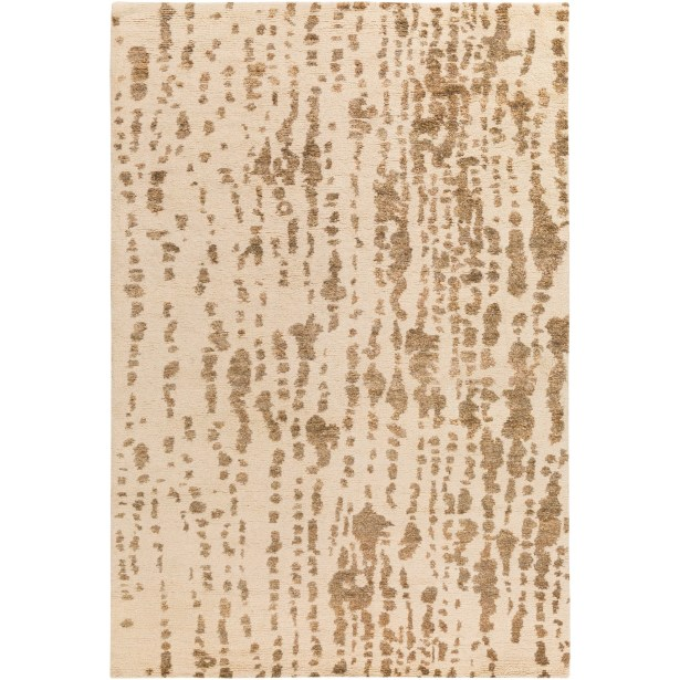 Orinocco Hand-Woven Brown/Beige Area Rug Rug Size: Rectangle 8' x 10'