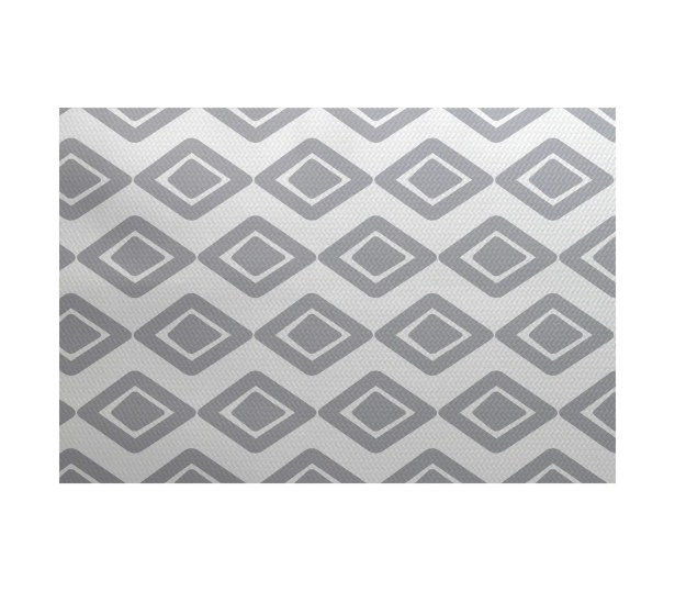 Abbie Gray Indoor/Outdoor Area Rug Rug Size: Rectangle 3' x 5'