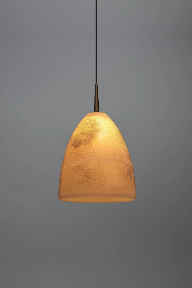 Alexander 1-Light Cone Pendant Color: Chrome, Shade Color: Tangerine