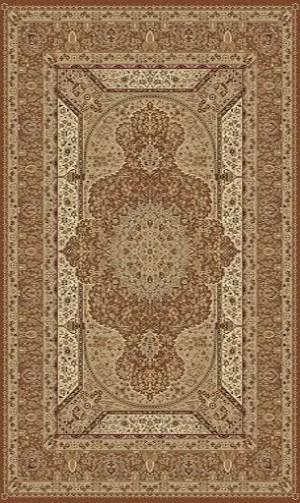 Tabriz Brown Indoor/Outdoor Area Rug Rug Size: 8' x 11'