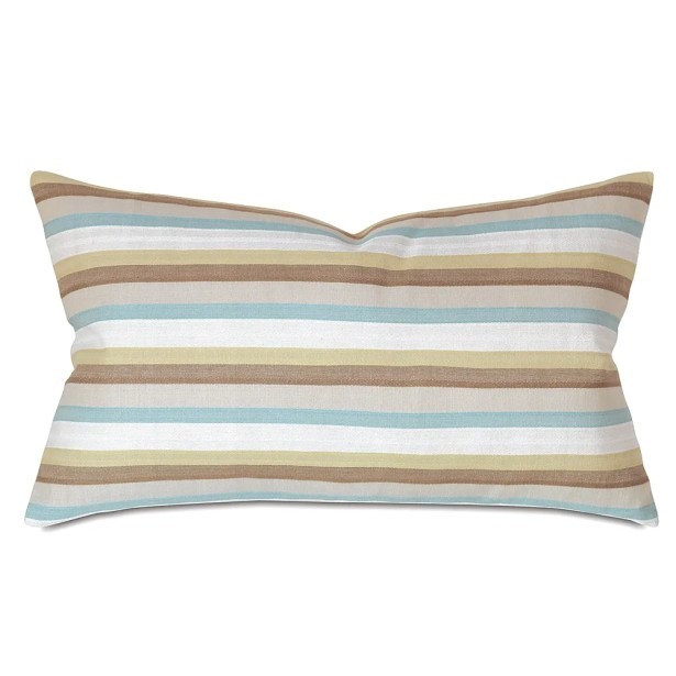 Kerin Cotton Lumbar Pillow Color: Sea