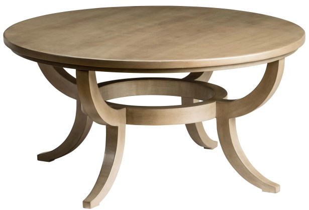 Round Coffee Table Size: 20