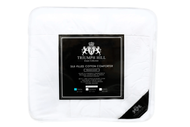 Triumph Hill Midweight Comforter Size: Twin