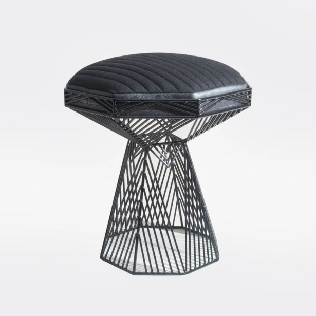 Switch End Table Color: Black