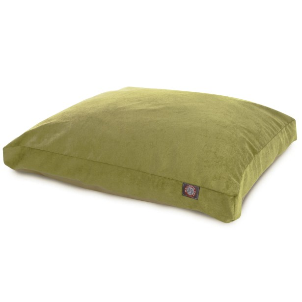 Villa Rectangle Pet Bed Color: Apple - Green, Size: Extra Small (20