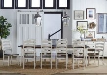Dining Table Sets Tamiami 9 Piece Solid Wood Dining Set