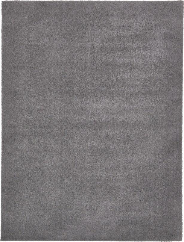Virgil Solid Shag Dark Gray Area Rug Rug Size: Rectangle 9' x 12'