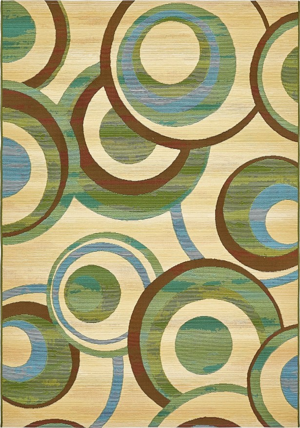 Skylar Beige Indoor/ Outdoor Area Rug Rug Size: Rectangle 5'3
