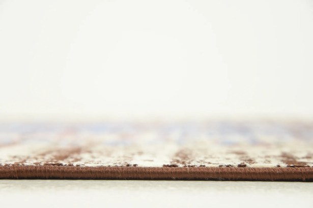 Florence Blue/Ivory Area Rug Rug Size: Rectangle 5' x 8'