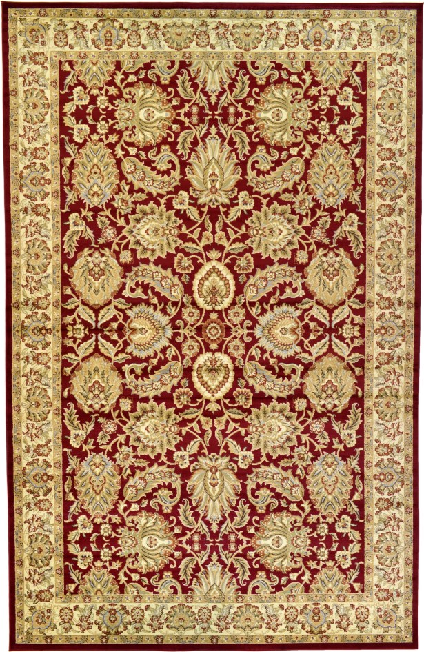 Fairmount Traditional Red Oriental Area Rug Rug Size: Rectangle 10'6