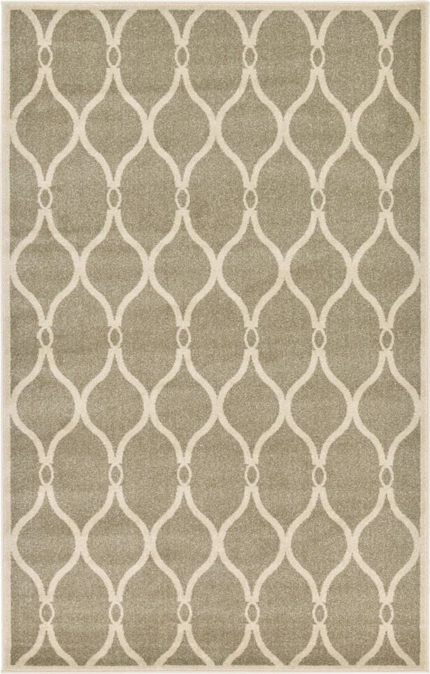 Molly Beige Area Rug Rug Size: Rectangle 5' x 8'