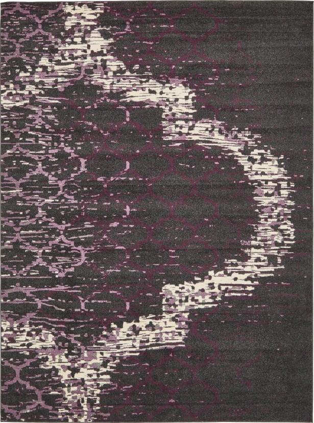 Steinbeck Violet Area Rug Rug Size: Rectangle 7' x 10'