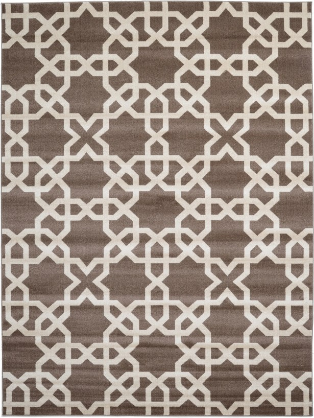 Moore Light Brown Area Rug Rug Size: Rectangle 9' x 12'