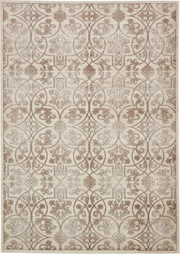 Mathieu Dark Beige/Brown Area Rug Rug Size: Rectangle 8' x 11'6