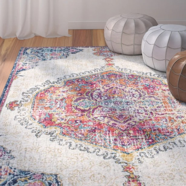 Cearbhall Beige Area Rug Rug Size: Rectangle 9' 10