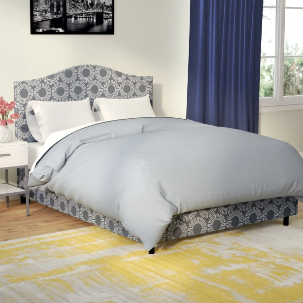 Hardy Upholstered Panel Bed Size: Queen