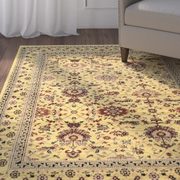 Bloomingdale Ivory Area Rug Rug Size: Rectangle 5' x 7'
