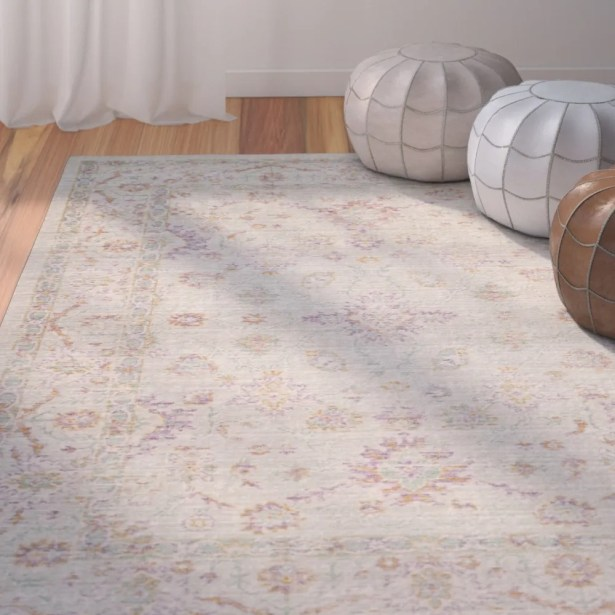 Chauncey Seafoam Area Rug Rug Size: Square 6'