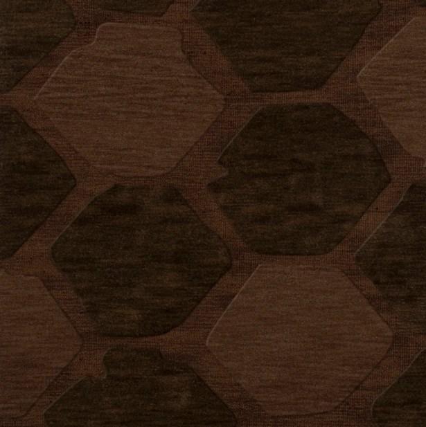 Harmonia Wool Nutmeg Area Rug Rug Size: Square 8'