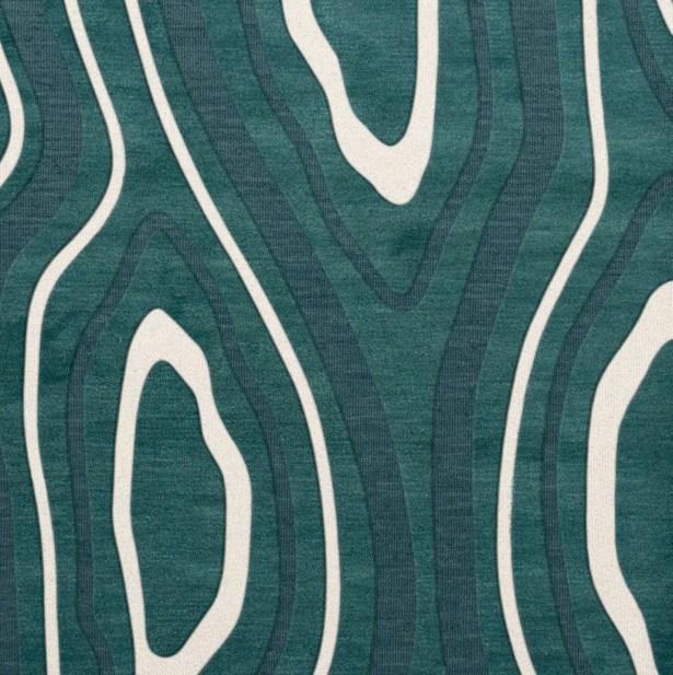 Sarahi Wool Geyser Area Rug Rug Size: Square 8'
