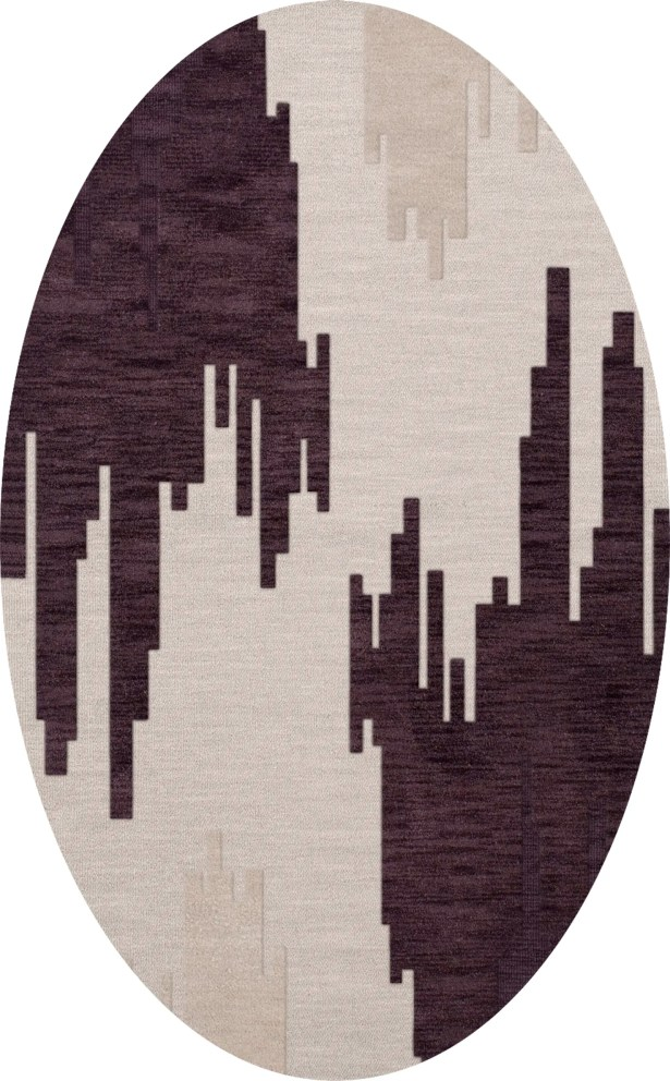 Hassell Wool Royalty Area Rug Rug Size: Oval 12' x 18'