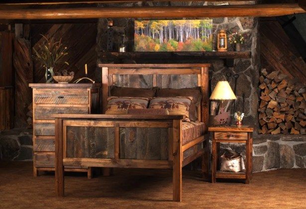 Estela Panel Bedroom Set Color: Tooled Leather, Size: Full