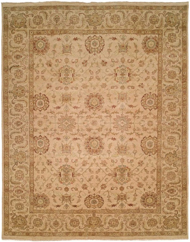 Mcgee Hand Knotted Wool Ivory Area Rug Rug Size: Rectangle 3' x 5'