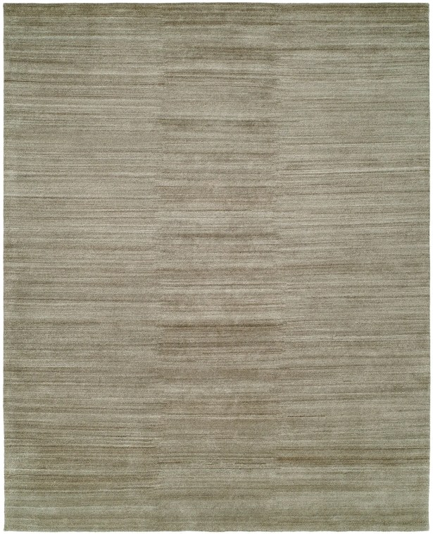 Sibyl Hand-Knotted Wool Gray Area Rug Rug Size: Rectangle 6' x 9'