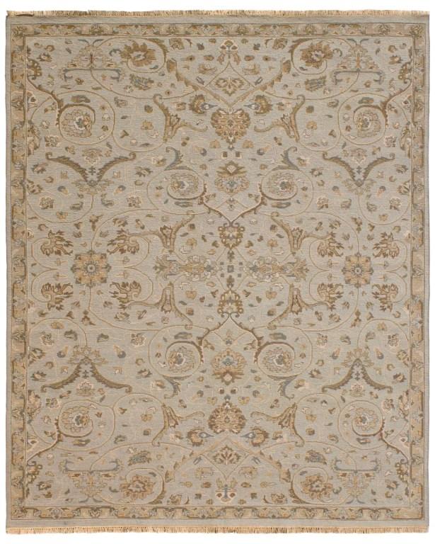 Heritage Wool Gray Area Rug Rug Size: Rectangle 4' x 6'