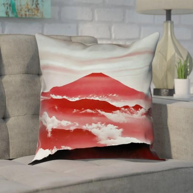 Enciso Fuji Cotton Pillow Cover Size: 16