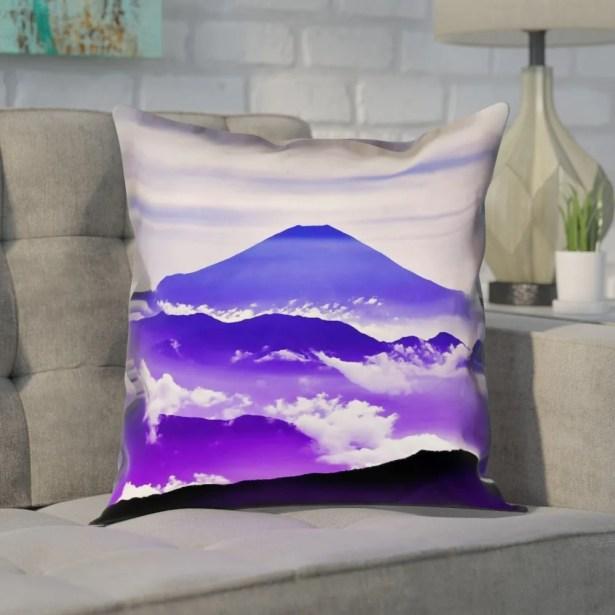 Enciso Fuji Suede Pillow Cover Size: 26