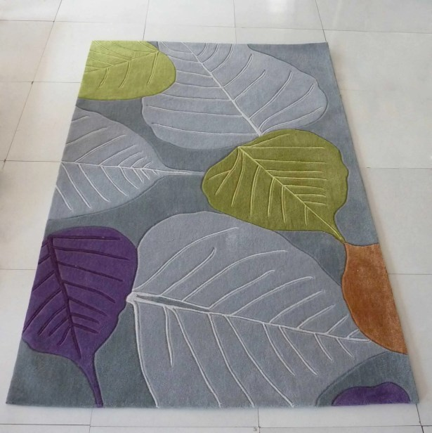Payeur Transitional Hand Woven Gray Indoor Area Rug