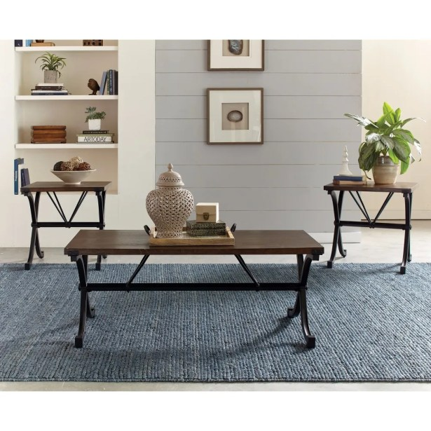 Penright 3 Piece Coffee Table Set