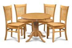 Dining Table Sets Miriam 5 Piece Solid Wood Dining Set