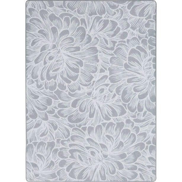 One-of-a-Kind Roxie Bloom Gray Area Rug Rug Size: Rectangle 5'4