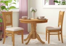 Dining Table Sets Cedarville 3 Piece Solid Wood Dining Set