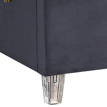 Fuiloro Upholstered Platform Bed Size: Queen, Color: Sky Blue