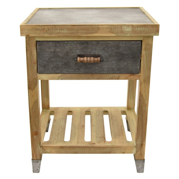 Palethorp Wood End Table Size: 24