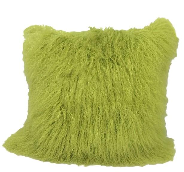 Kimberlin Tibetan Snow Top Wool Throw Pillow Size: 20