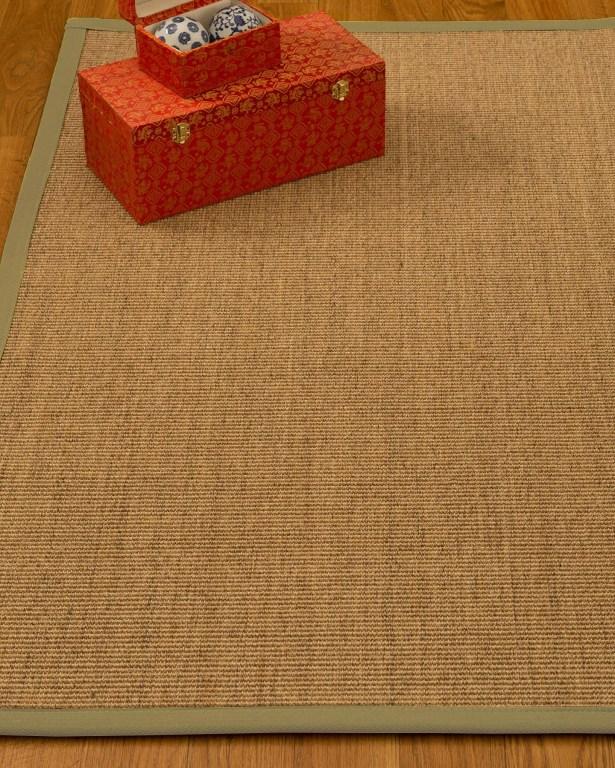Kimberlin Hand-Woven Beige Area Rug Rug Size: Rectangle 4' x 6'