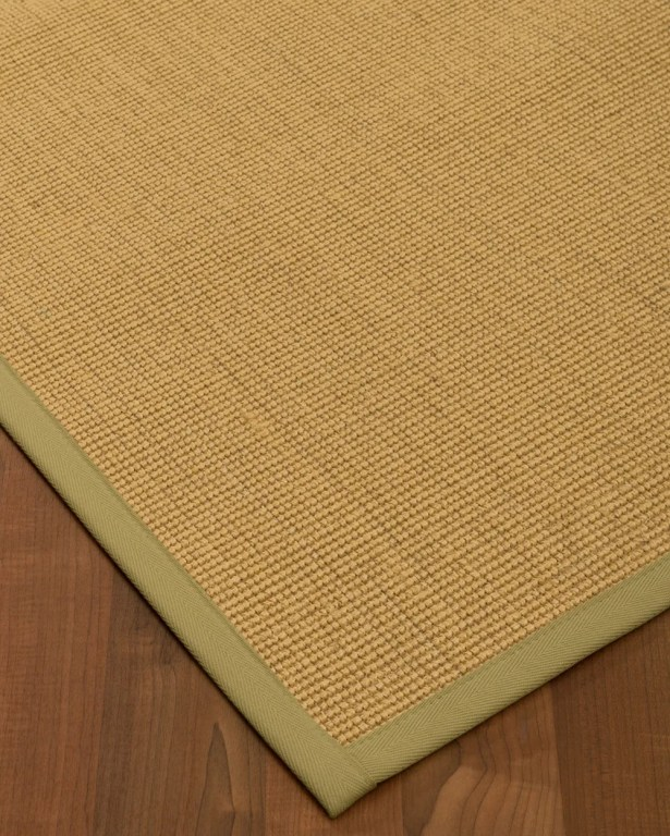 Halterman Hand-Woven Beige Area Rug Rug Size: Rectangle 4' x 6'