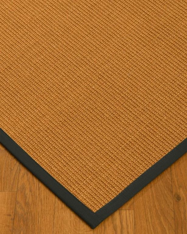 Kelston Mills Border Hand-Woven Beige/Black Area Rug Rug Size: Rectangle 5' x 8'