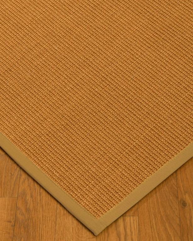 Kemmerer Border Hand-Woven Brown/Sage Area Rug Rug Size: Runner 2'6