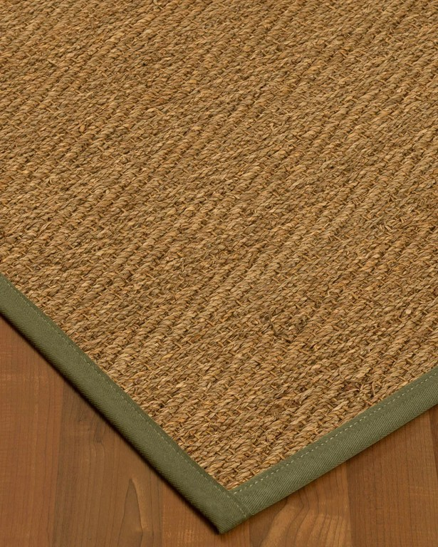 Chavarria Border Hand-Woven Beige/Fossil Area Rug Rug Size: Rectangle 5' x 8', Rug Pad Included: Yes