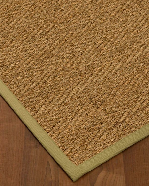 Chavarria Border Hand-Woven Beige/Natural Area Rug Rug Size: Rectangle 12' x 15', Rug Pad Included: Yes